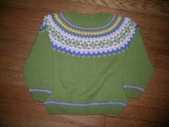 Franklin sweater