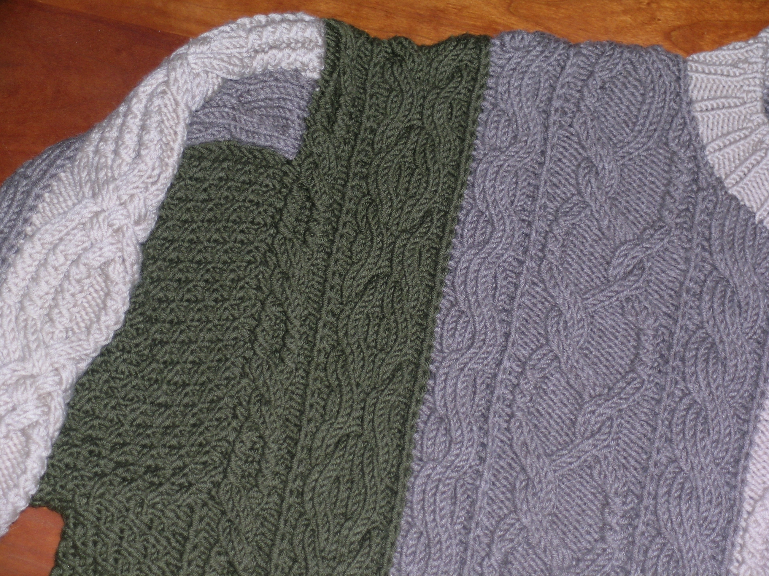 Knitting Increases For Sleeves : Vivian hoxbro knitting before was cool