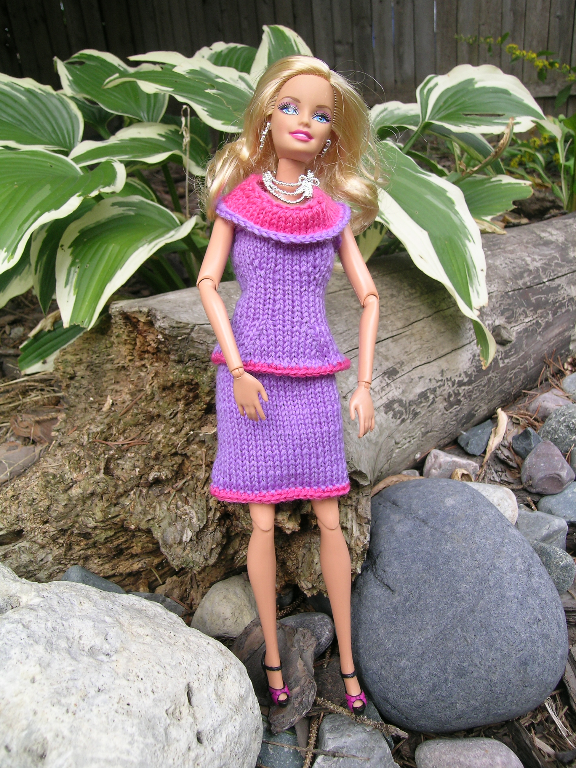 Knitting Patterns For Barbie Clothes : Barbie Doll clothes Knitting before Knitting was Cool
