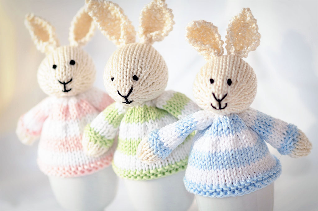 Happy Easter | Knitting before Knitting was Cool