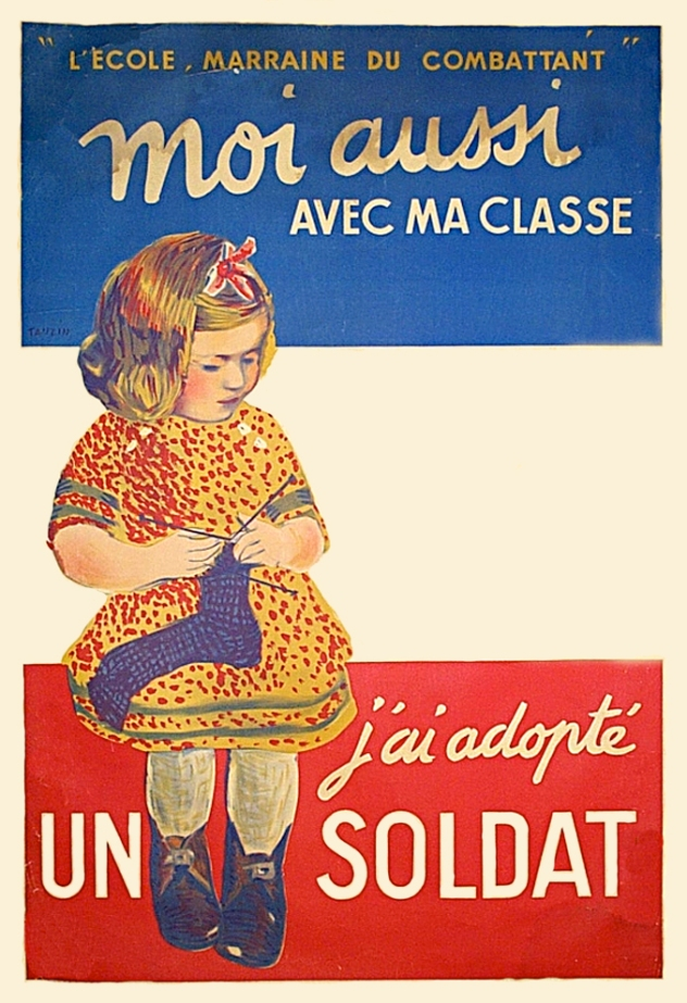 FrenchKnittingForSoldiersPoster